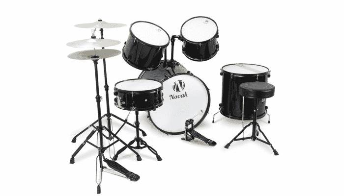 Five Piece Drum Set for Adults by Novah